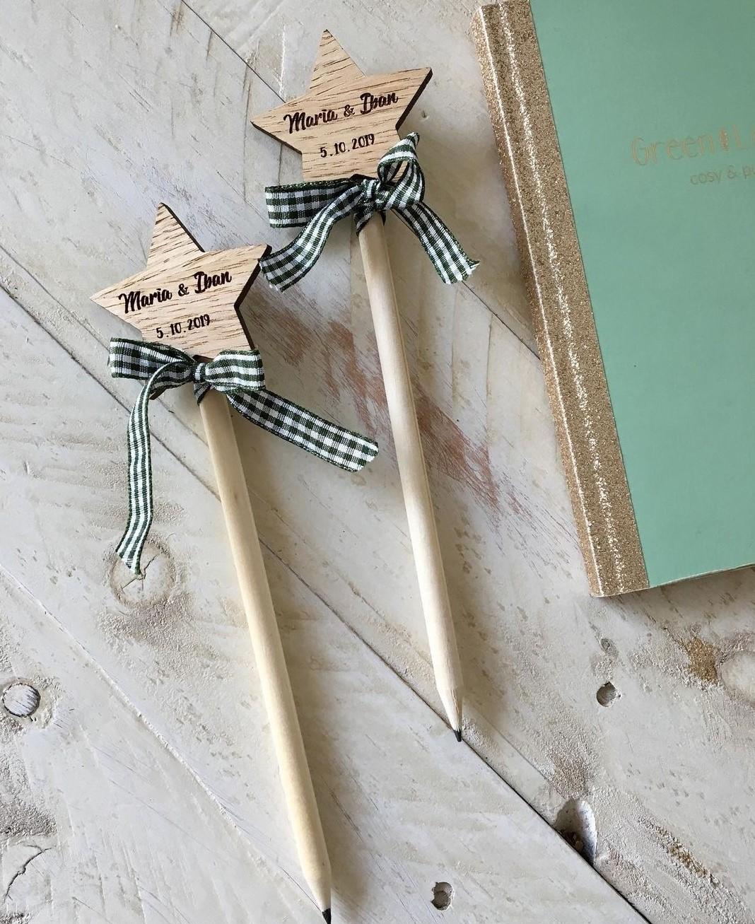 Lápices personalizados Regalos para invitados